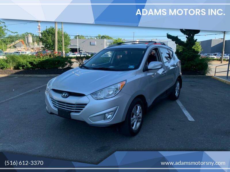 2013 Hyundai Tucson for sale at Adams Motors INC. in Inwood NY