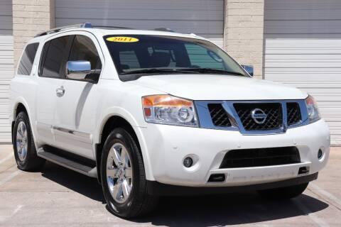 2011 Nissan Armada for sale at MG Motors in Tucson AZ