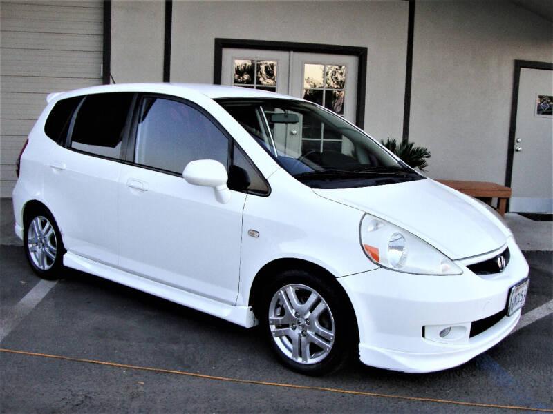 2007 Honda Fit for sale at DriveTime Plaza in Roseville CA