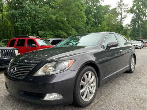 2009 Lexus LS 460 for sale at Car Online in Roswell GA