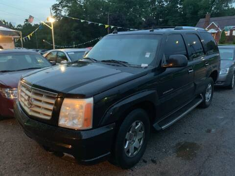 2003 Cadillac Escalade for sale at Trocci's Auto Sales in West Pittsburg PA