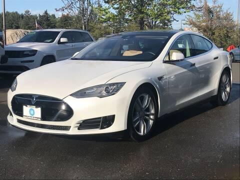 2015 Tesla Model S for sale at GO AUTO BROKERS in Bellevue WA