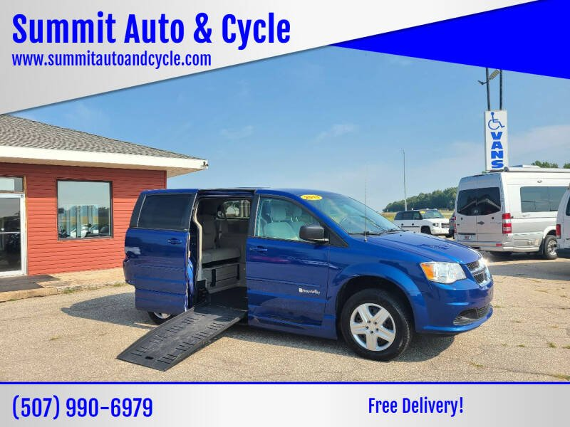 2013 Dodge Grand Caravan for sale at Summit Auto & Cycle in Zumbrota MN