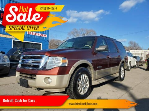 2007 Ford Expedition for sale at Detroit Cash for Cars in Warren MI