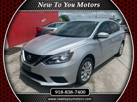 2016 Nissan Sentra for sale at New To You Motors in Tulsa OK