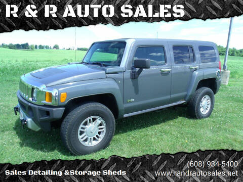2009 HUMMER H3 for sale at R & R AUTO SALES in Juda WI