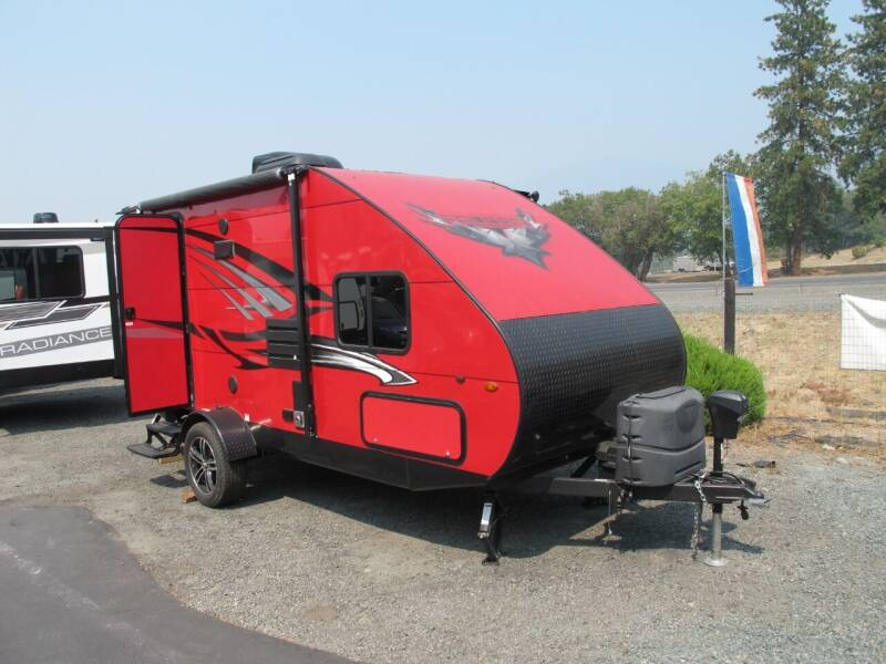 2018 Travel Lite Falcon F-21 RB W/Slide for sale at Oregon RV Outlet LLC in Grants Pass OR