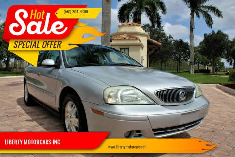 2004 Mercury Sable for sale at LIBERTY MOTORCARS INC in Royal Palm Beach FL