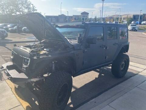 2018 Jeep Wrangler JK Unlimited for sale at EMPIRE LAKEWOOD NISSAN in Lakewood CO