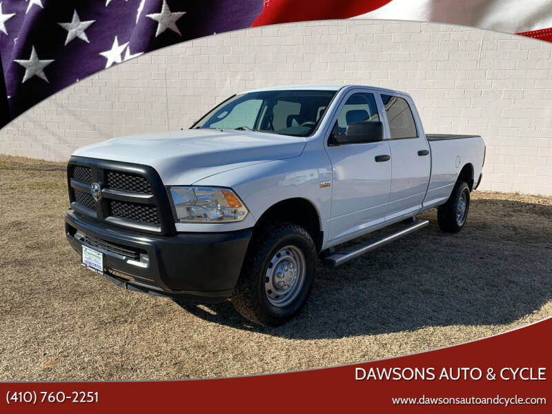 2013 RAM Ram Pickup 2500 for sale at Dawsons Auto & Cycle in Glen Burnie MD