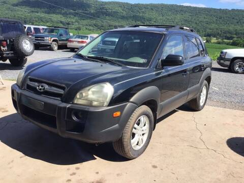 2007 Hyundai Tucson for sale at Troys Auto Sales in Dornsife PA