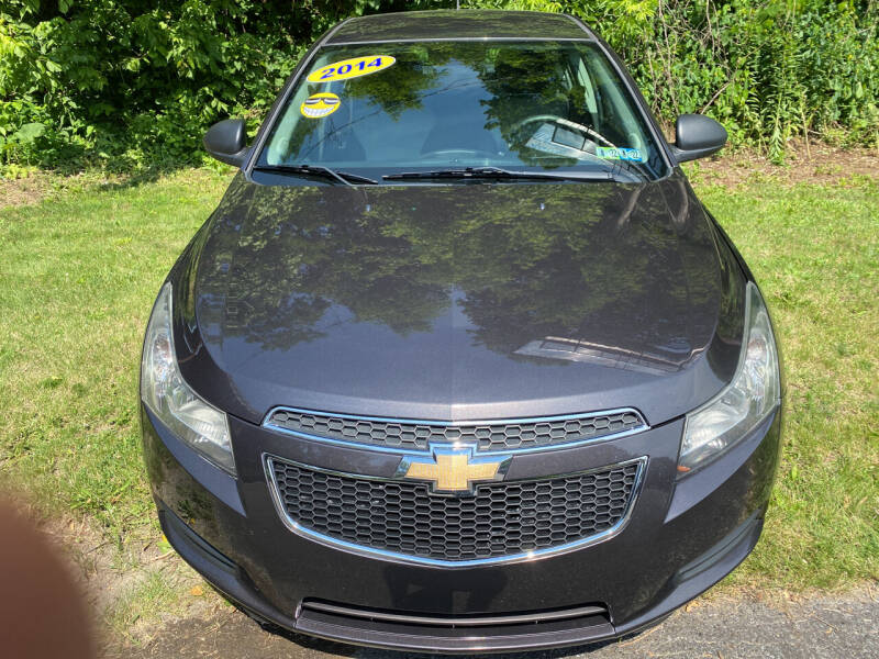 2014 Chevrolet Cruze for sale at WHARTON'S AUTO SVC & USED CARS in Wheeling WV