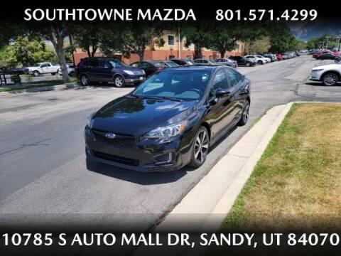 2018 Subaru Impreza for sale at Southtowne Mazda of Sandy in Sandy UT