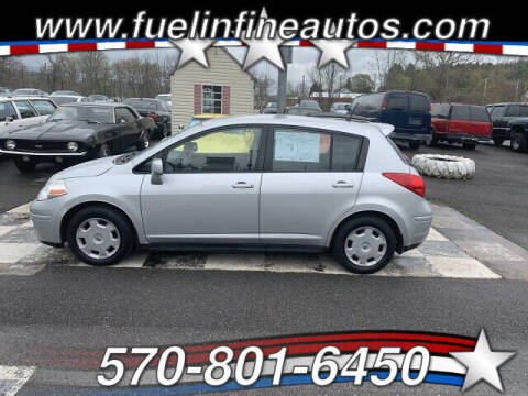 2009 Nissan Versa for sale at FUELIN FINE AUTO SALES INC in Saylorsburg PA