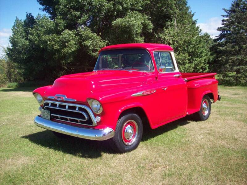 1957 Chevrolet 3100 for sale at S & S CLASSIC MOTORSPORTS INC in Ellendale MN