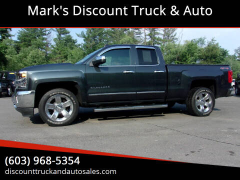 2017 Chevrolet Silverado 1500 for sale at Mark's Discount Truck & Auto in Londonderry NH
