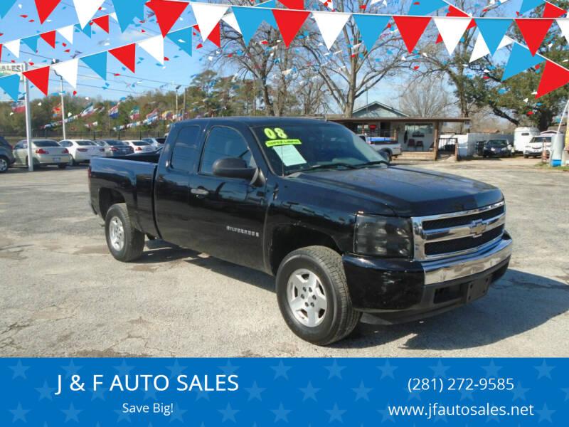 2008 Chevrolet Silverado 1500 for sale at J & F AUTO SALES in Houston TX