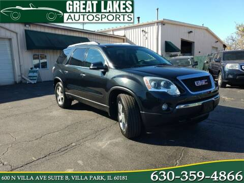 2012 GMC Acadia for sale at Great Lakes AutoSports in Villa Park IL