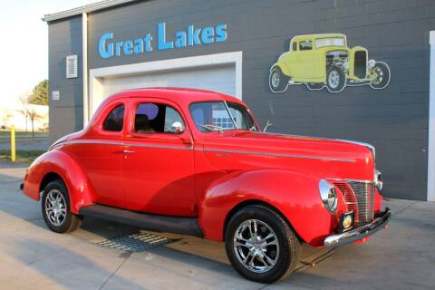1940 Ford Deluxe for sale at Great Lakes Classic Cars & Detail Shop in Hilton NY