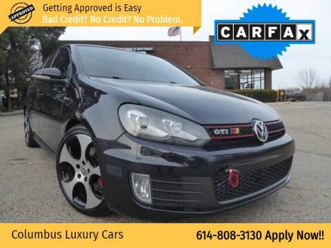 2010 Volkswagen GTI for sale at Columbus Luxury Cars in Columbus OH