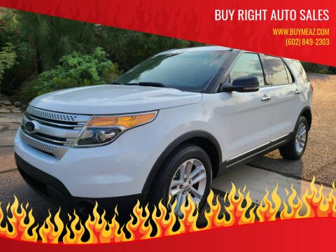 2013 Ford Explorer for sale at BUY RIGHT AUTO SALES in Phoenix AZ