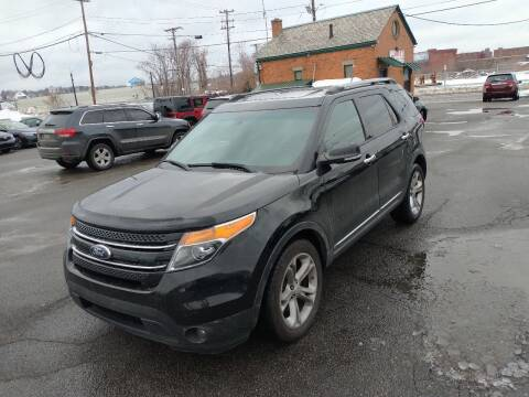 2013 Ford Explorer for sale at Merrimack Motors in Lawrence MA