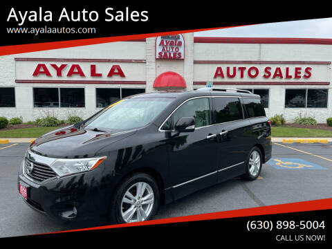2011 Nissan Quest for sale at Ayala Auto Sales in Aurora IL