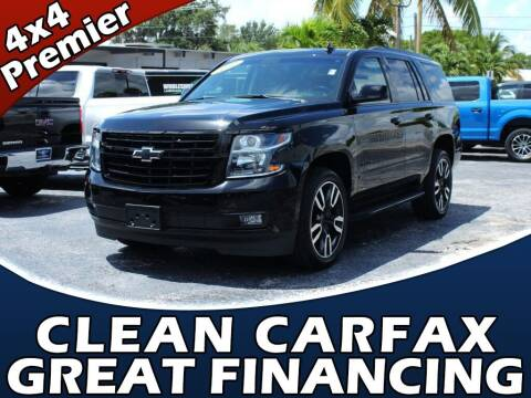 2019 Chevrolet Tahoe for sale at Palm Beach Auto Wholesale in Lake Park FL