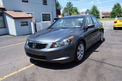 2008 Honda Accord for sale at L&J AUTO SALES in Birdsboro PA