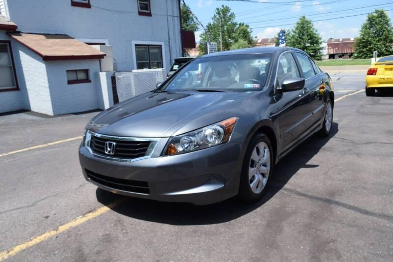 2008 Honda Accord for sale at L&J AUTO SALES in Birdsboro PA
