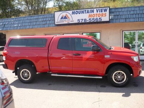 2011 Toyota Tundra for sale at Mountain View Motors Inc in Colorado Springs CO