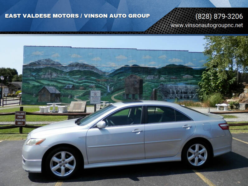 2007 Toyota Camry for sale at EAST VALDESE MOTORS / VINSON AUTO GROUP in Valdese NC
