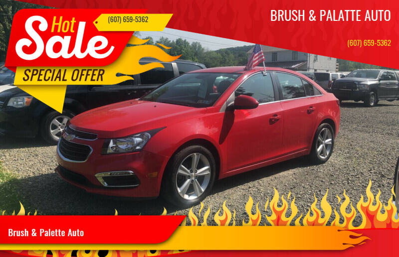2016 Chevrolet Cruze Limited for sale at Brush & Palette Auto in Candor NY
