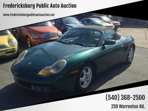 2000 Porsche Boxster for sale at FPAA in Fredericksburg VA