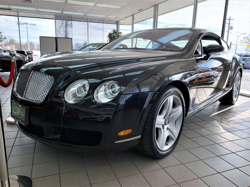 2005 Bentley Continental for sale at SAINT CHARLES MOTORCARS in Saint Charles IL