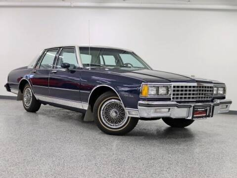 1982 Chevrolet Caprice for sale at PLATINUM MOTORSPORTS INC. in Hickory Hills IL
