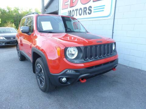 2016 Jeep Renegade for sale at Edge Motors in Mooresville NC
