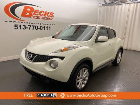 2012 Nissan JUKE for sale at Becks Auto Group in Mason OH