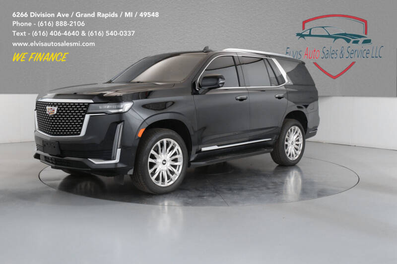 2021 Cadillac Escalade for sale at Elvis Auto Sales LLC in Grand Rapids MI