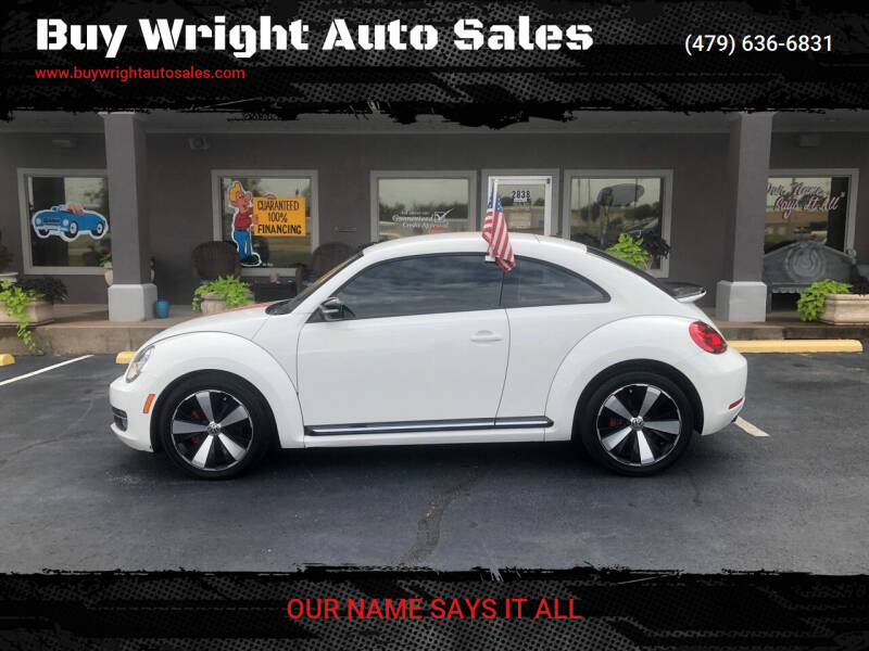 2013 Volkswagen Beetle for sale at Buy Wright Auto Sales in Rogers AR