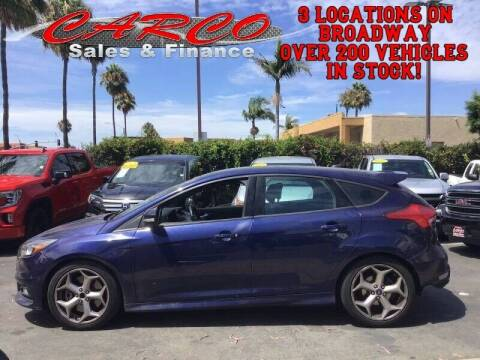 2016 Ford Focus for sale at CARCO SALES & FINANCE #3 in Chula Vista CA