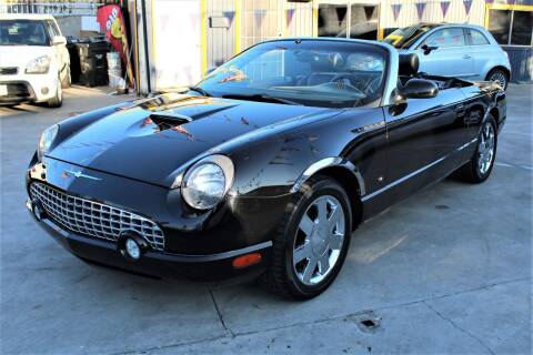 2002 Ford Thunderbird for sale at Good Vibes Auto Sales in North Hollywood CA