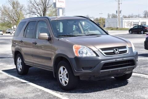 2002 Honda CR-V for sale at BOB ROHRMAN FORT WAYNE TOYOTA in Fort Wayne IN