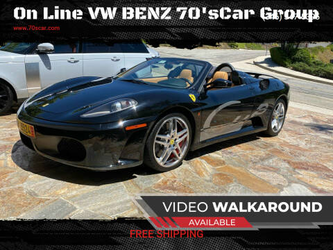 2007 Ferrari F430 for sale at On Line VW BENZ 70'sCar Group in Warehouse CA