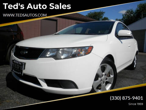 2010 Kia Forte for sale at Ted's Auto Sales in Louisville OH
