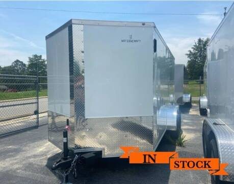 2021 Nation Craft 7 x 16 TA 2 for sale at Grizzly Trailers in Fitzgerald GA