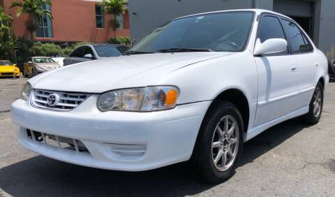 2002 Toyota Corolla for sale at Meru Motors in Hollywood FL