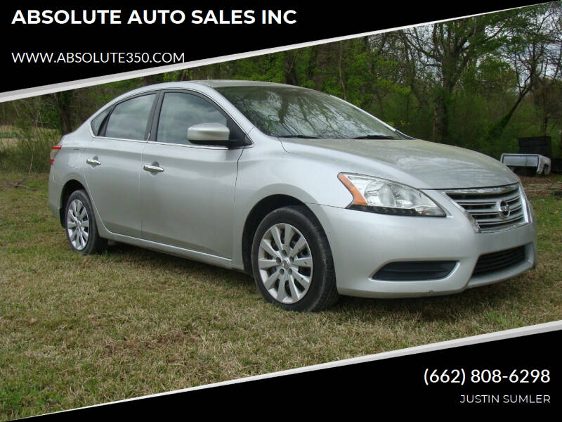 2015 Nissan Sentra for sale at ABSOLUTE AUTO SALES INC in Corinth MS