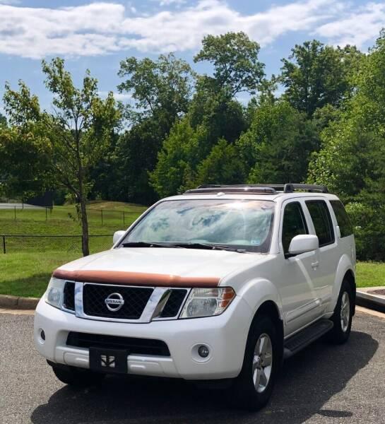 2008 Nissan Pathfinder for sale at ONE NATION AUTO SALE LLC in Fredericksburg VA