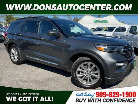 2020 Ford Explorer for sale at Dons Auto Center in Fontana CA